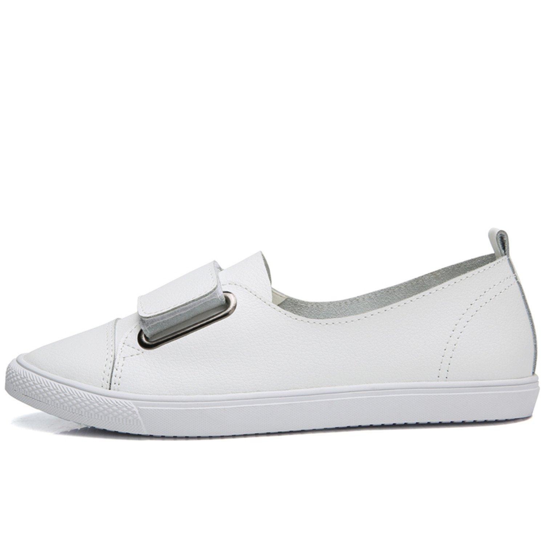 Amazon.com   Leather Women Casual Shoes Shoes Women Tenis Flats Loafers Women Platform Ladies Shoes   Shoes