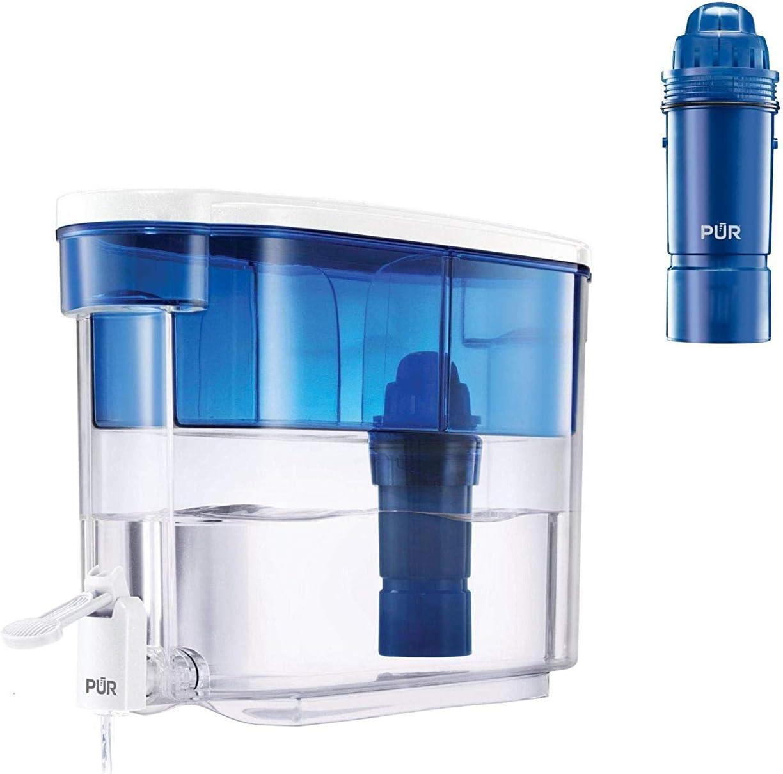 PUR - Filtro de Agua para Jarra, dispensador de 18 Tazas: Amazon ...