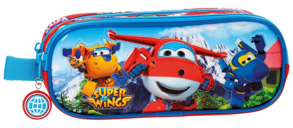Super Wings-Trousse double compartiment Super Wings Mountain 2144261