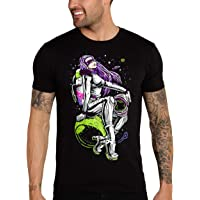 INTO THE AM Men's Graphic Tees - Cool Novelty Design T Shirts for Men
