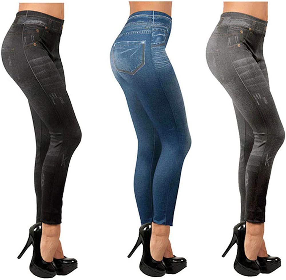 Slim Jeggings Pack de 3