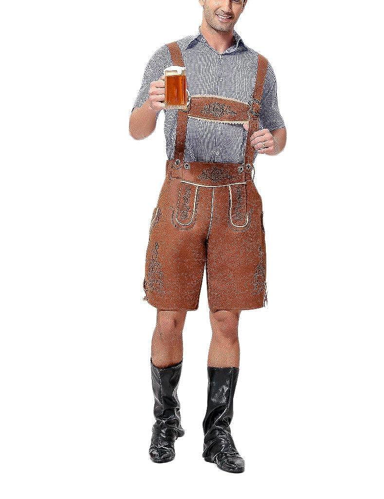 Hombre Oktoberfest Cosplay traje típico de Halloween ...