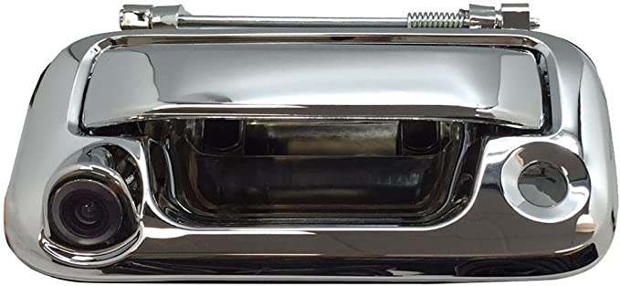 Chrome Tailgate Handle Backup Camera Kit For 2008-2016 Ford F250 F350 F450 F550