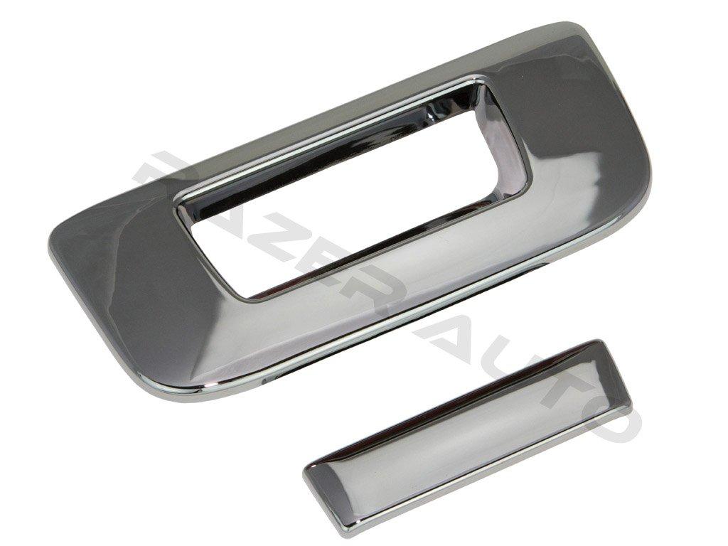 07-13 GMC Sierra 1500+2500+3500 Chrome Tailgate+Keyhole+Camera Hole Handle Cover