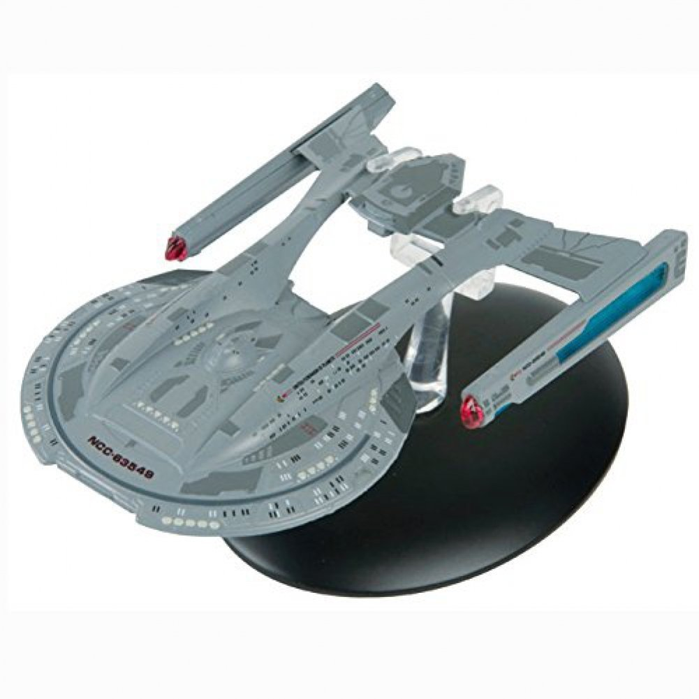 Star Trek USS Thunderchild NCC-63549 with Collectible Magazine #12 by Eaglemoss Eaglemoss Publications