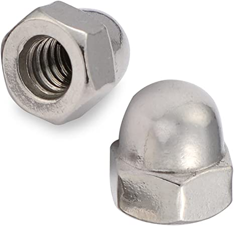 10-24 Acorn Cap Nuts 18-8SS Stainless Steel Pack Of 25