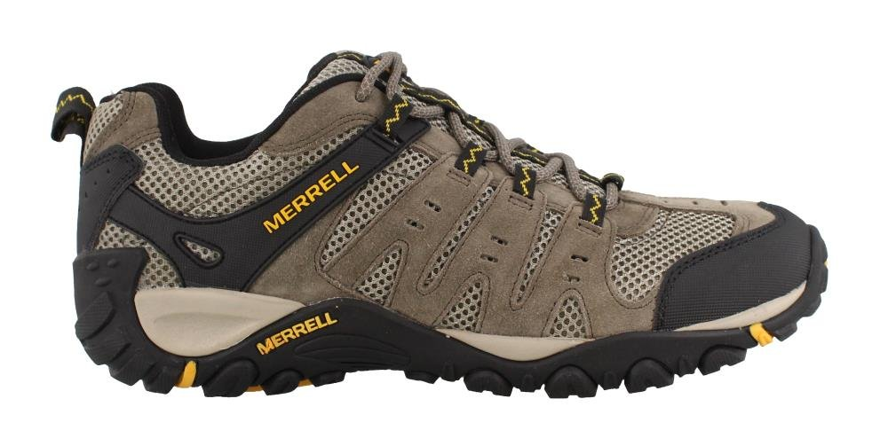 Merrell Men's Accentor Hiking Boot, Boulder/Old Gold, 14 M US by Merrell (Image #1)