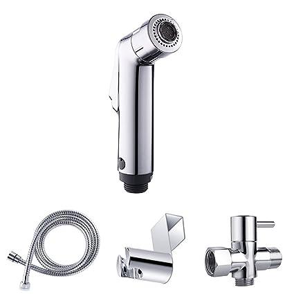 Wefond Hand Held Bidet Toilet Sprayer Kit Spray de pañales de tela, modelos duales para
