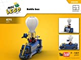 Battle bus (Video game) (Instruction only): Moc LEGO (English Edition)