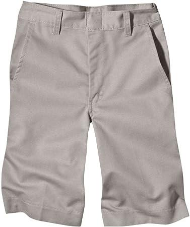 Dickies Boys Shorts Flat Front Size 8-20 School Uniform 54562