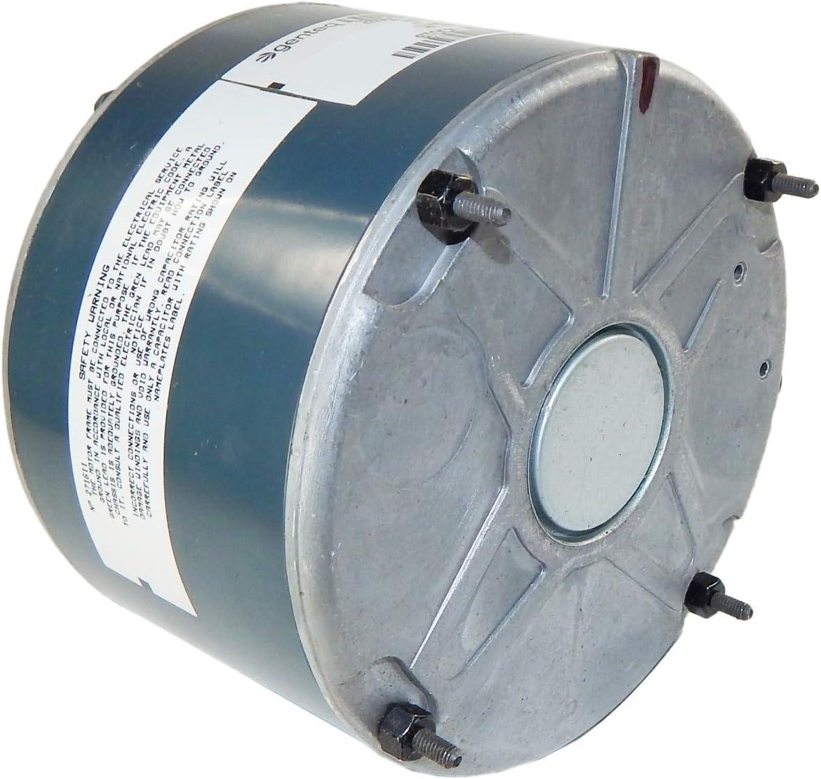 GE Genteq 1//5 HP 208-230v 825 RPM Condenser FAN MOTOR 5KCP39GFY917S 3S003