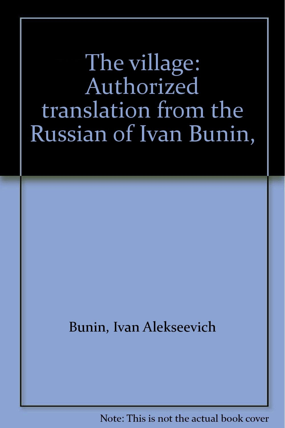 Ivan Bunin, In the village - the content of the story, analysis and characterization of the characters 27