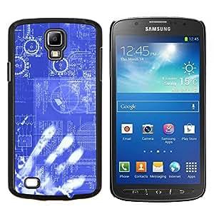 Planetar® ( Informatica codice tecnologia E Robot Ai ) Samsung i9295 Galaxy S4 Active / i537 (NOT S4) Fundas Cover Cubre Hard Case Cover