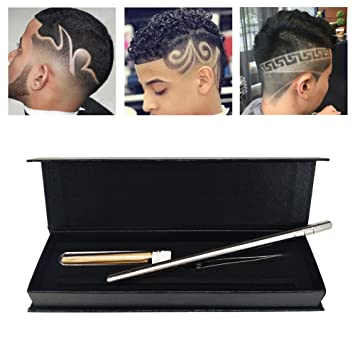Amazon Com Hair Styling Tools Hairstyle Design Pen Razor For