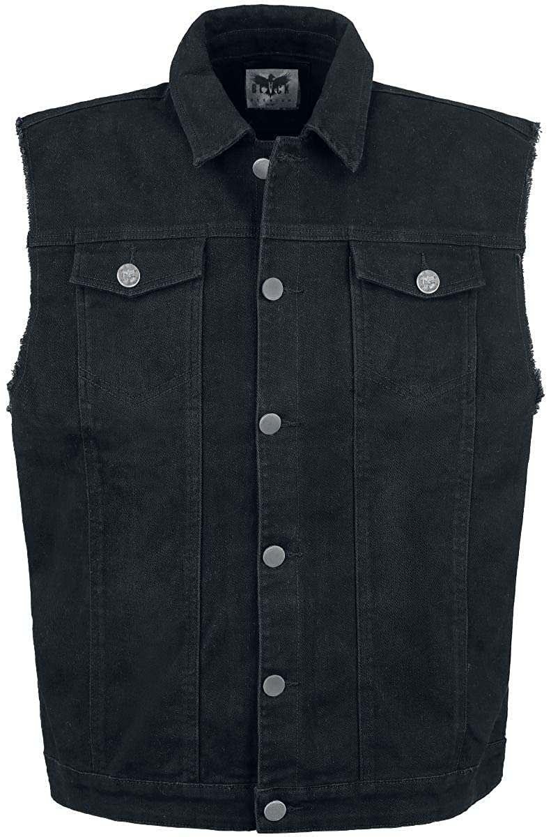 Black Premium by EMP Life Of An Easy Rider Waistcoat black