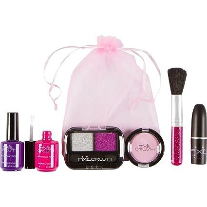 d5253c84d Amazon.com: PixieCrush Pretend Makeup Play Set for Children Single or Party  Pack Petite Pretend Play Set: Toys & Games