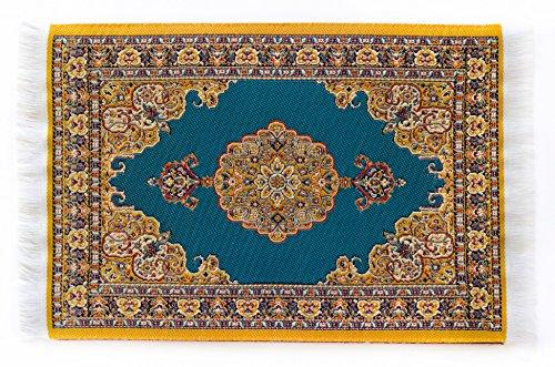 Agra Design Rug - Mouse Pad - Oriental Carpet Woven Fabric Mousepad - Agra Design