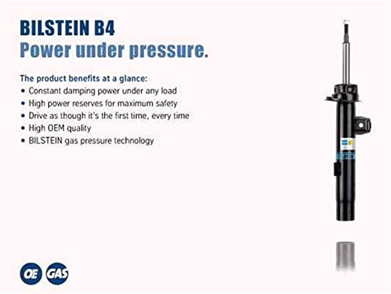 Bilstein 19-183633 B4 Series OE Replacement Shock Absorber B4 Series OE Replacement Shock Absorber