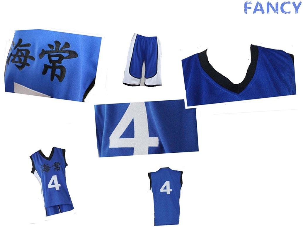 Kuroko No Basuke fancy - cosplay Kostuem Yukio Kasamatsu Basketball Jersey