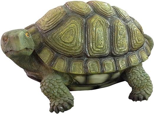 Verdelook - Figura de tortuga para decoración de jardín, decoración exterior: Amazon.es: Jardín