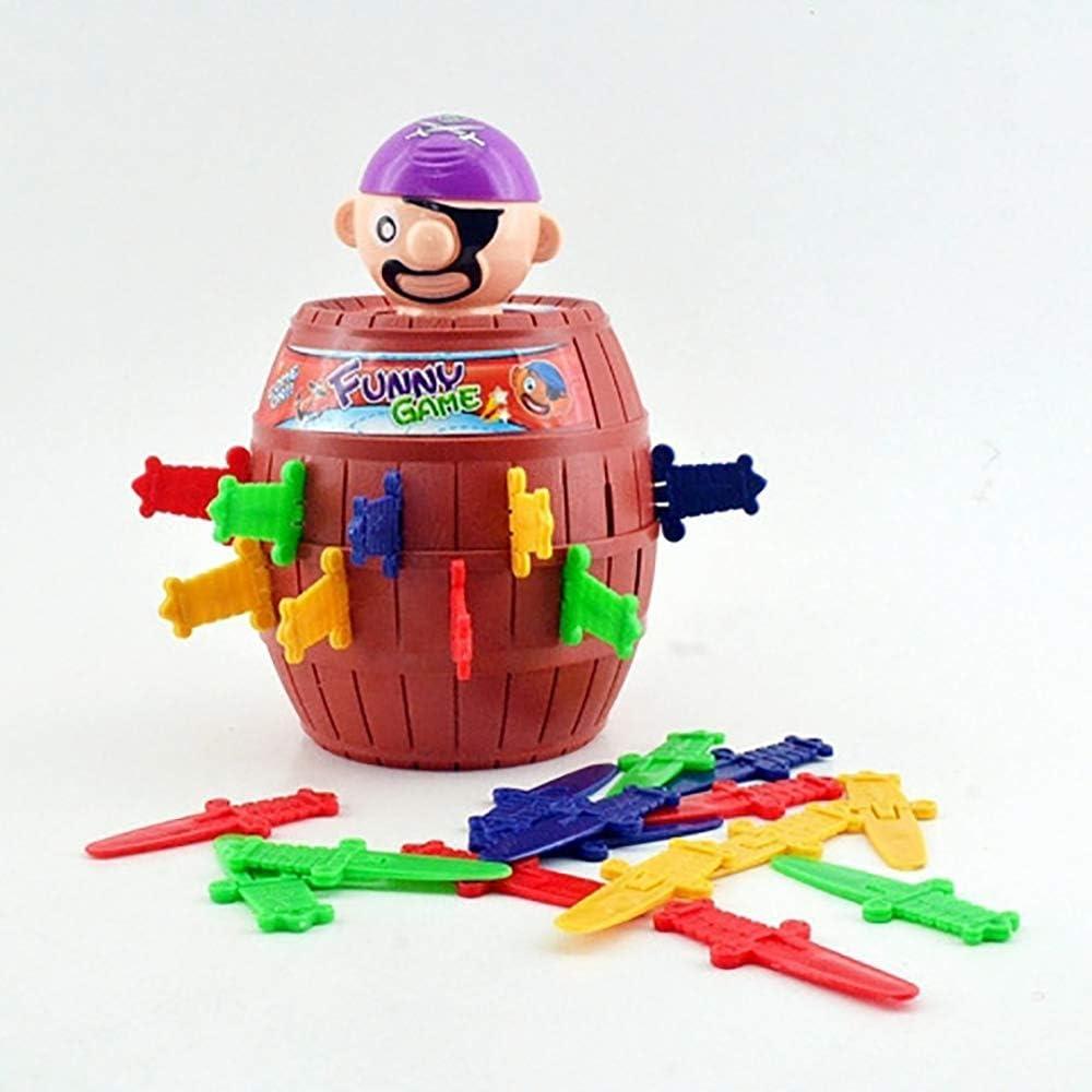 FONGFONG Pic Pirate Voyage avec Fonction dEconomie dargent Pirate Seau Insert Ep/ée Jeu Int/éressant Astuce Jouet pour Enfants de 3 Ans et Plus
