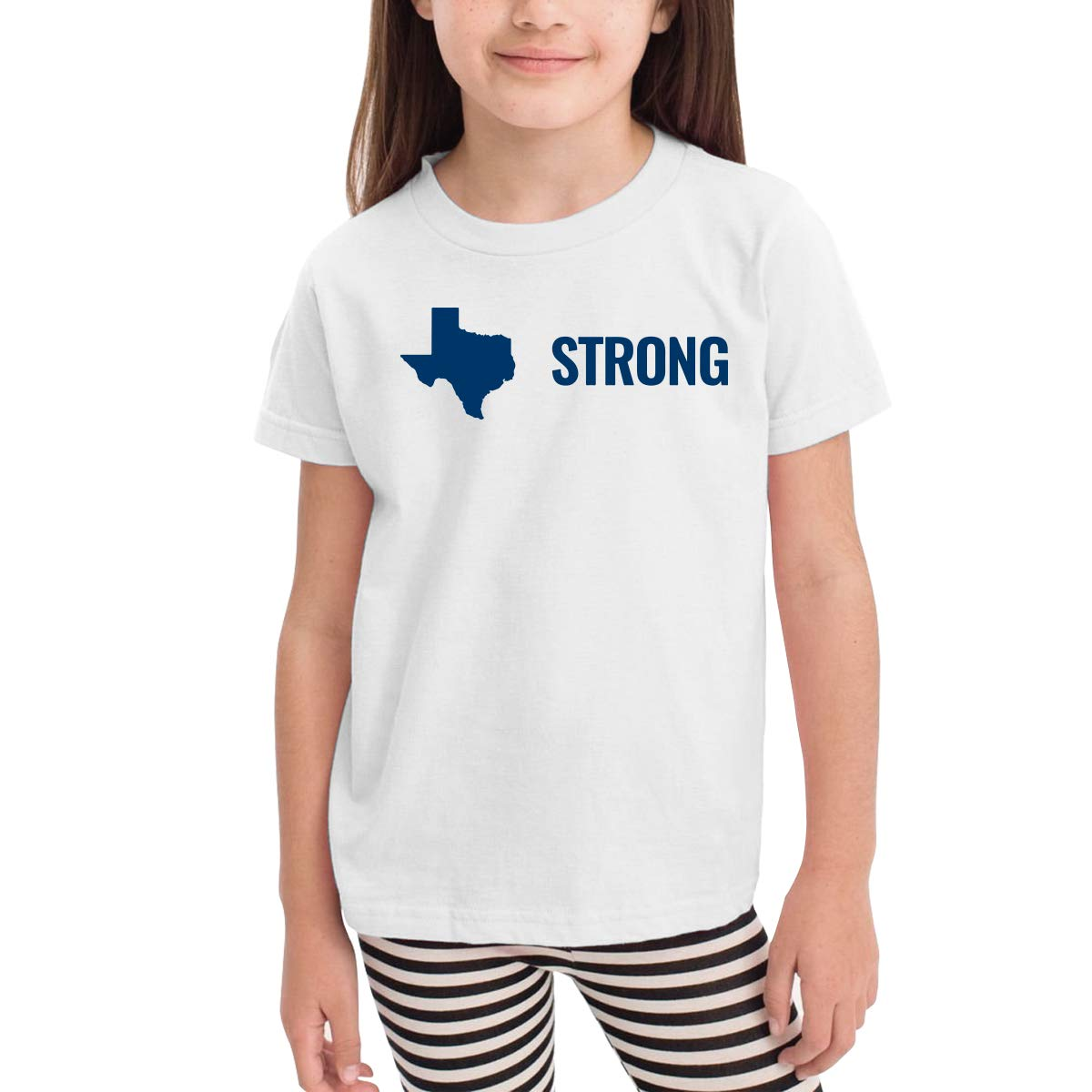 Toddler Baby Hurricane Harvey Texas Strong Short Sleeve Tee Lovely Crew Neck Tee