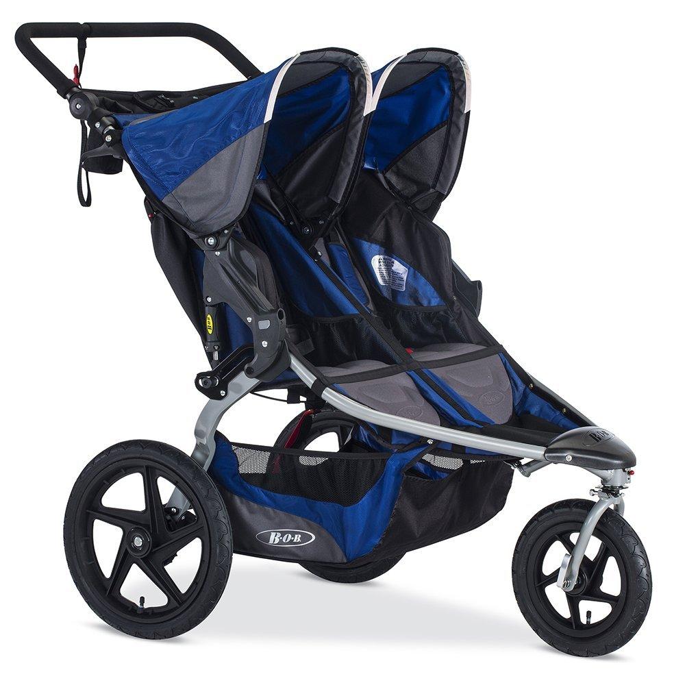 BOB 2016 Stroller Strides Fitness Duallie Jogging Stroller, Blue
