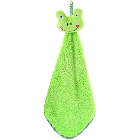 GOTTING Pequeños animales de cocina Wipe toalla que cuelga toallas de mano Pañuelo niños Cocina Baño