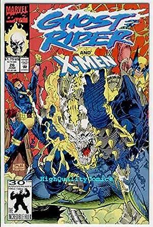 Marvel 1990 Series Punisher app Jim Lee Near Mint Ghost Rider #5 2 Copies