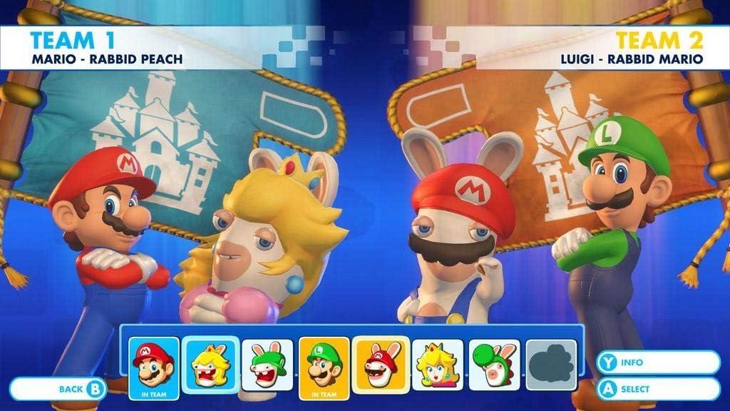 Nintendo Mario + Rabbids Kingdom Battle, Switch Básico Nintendo ...