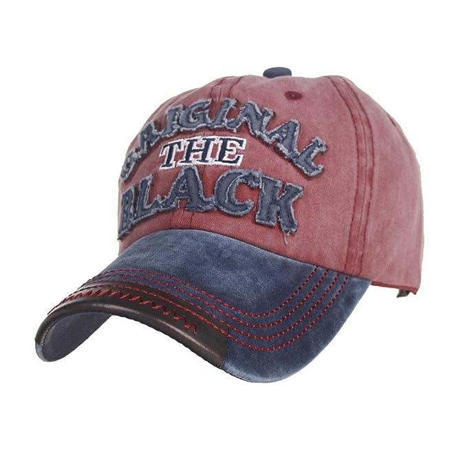 UFACE CAPS - Gorra de béisbol - para Hombre Rojo M: Amazon.es ...
