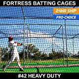 Baseball Batting Cages [ALL SIZES] #42 Heavy Duty Net [Net World Sports]