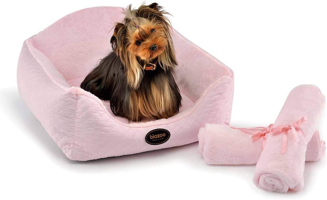 biozoo, Cuna desenfundable para Perros (Rosa) - Talla 4: 55cm x ...
