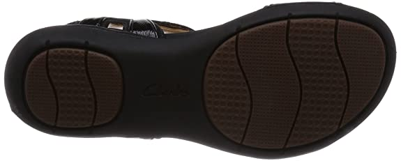 ddb27170e4ea Clarks Women s Un Voshell Leather Fashion Sandals  Buy Online at Low Prices  in India - Amazon.in