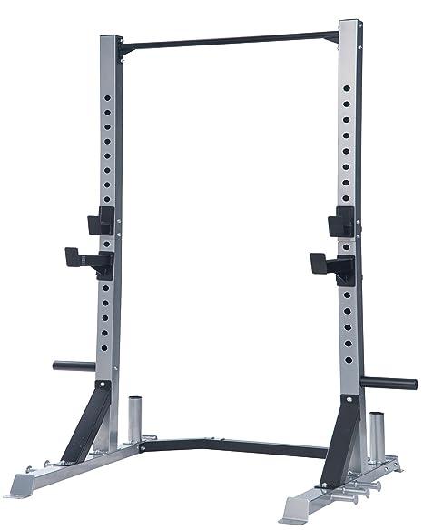 Merax Pro ejercicio jaula de sentadillas: Amazon.es: Deportes y ...