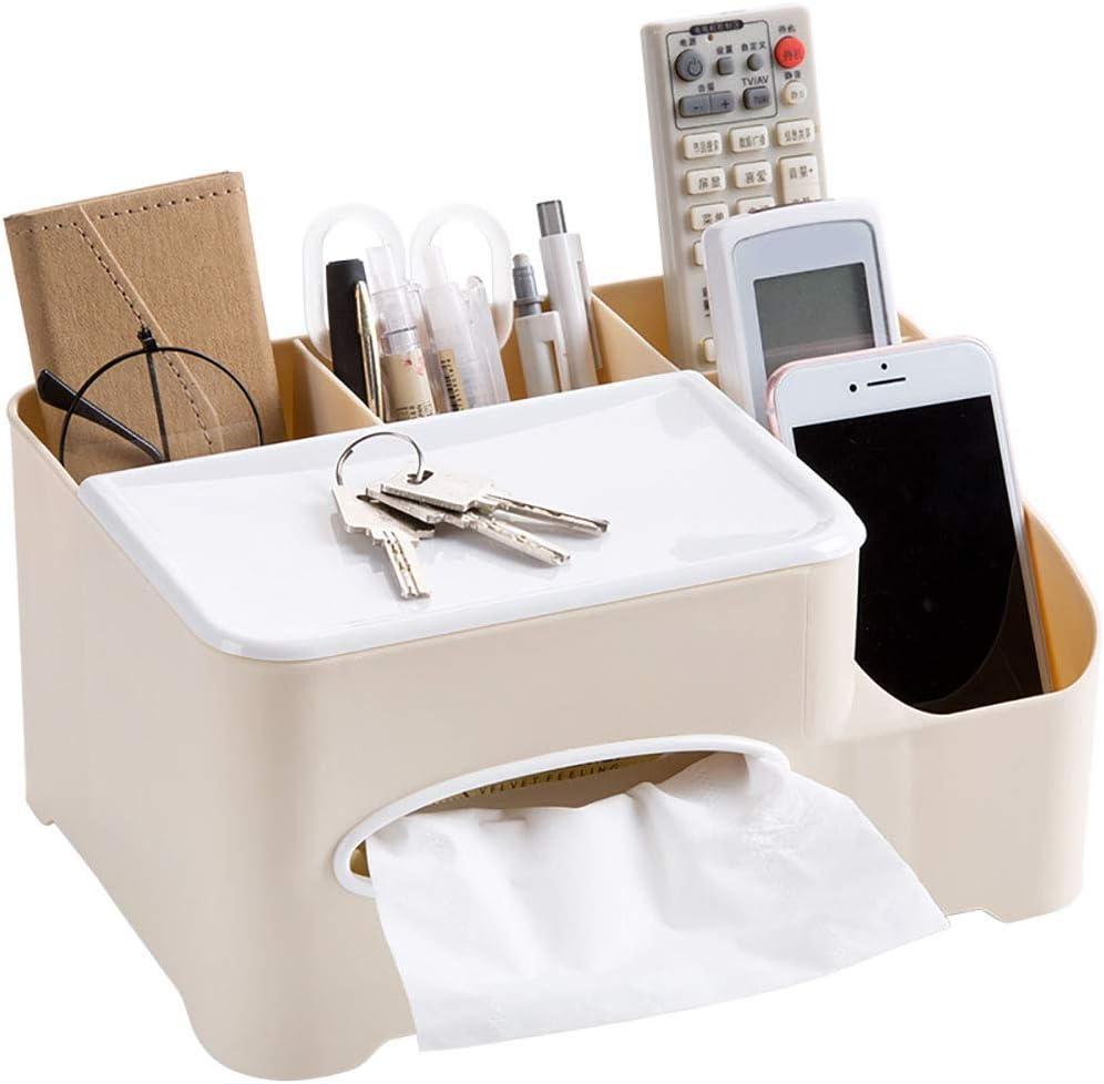 1 bo/îte de mouchoirs rectangulaire cosm/étique de table de couverture d/écorative en papier porte-serviettes pour la maison