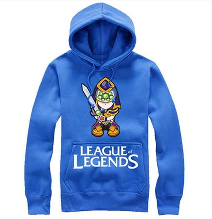 Fashion carcasa Master en las sudadera le LOL Yi esquilador Wuju sudadera-camisetas League Of Legends a las de la: Amazon.es: Ropa y accesorios