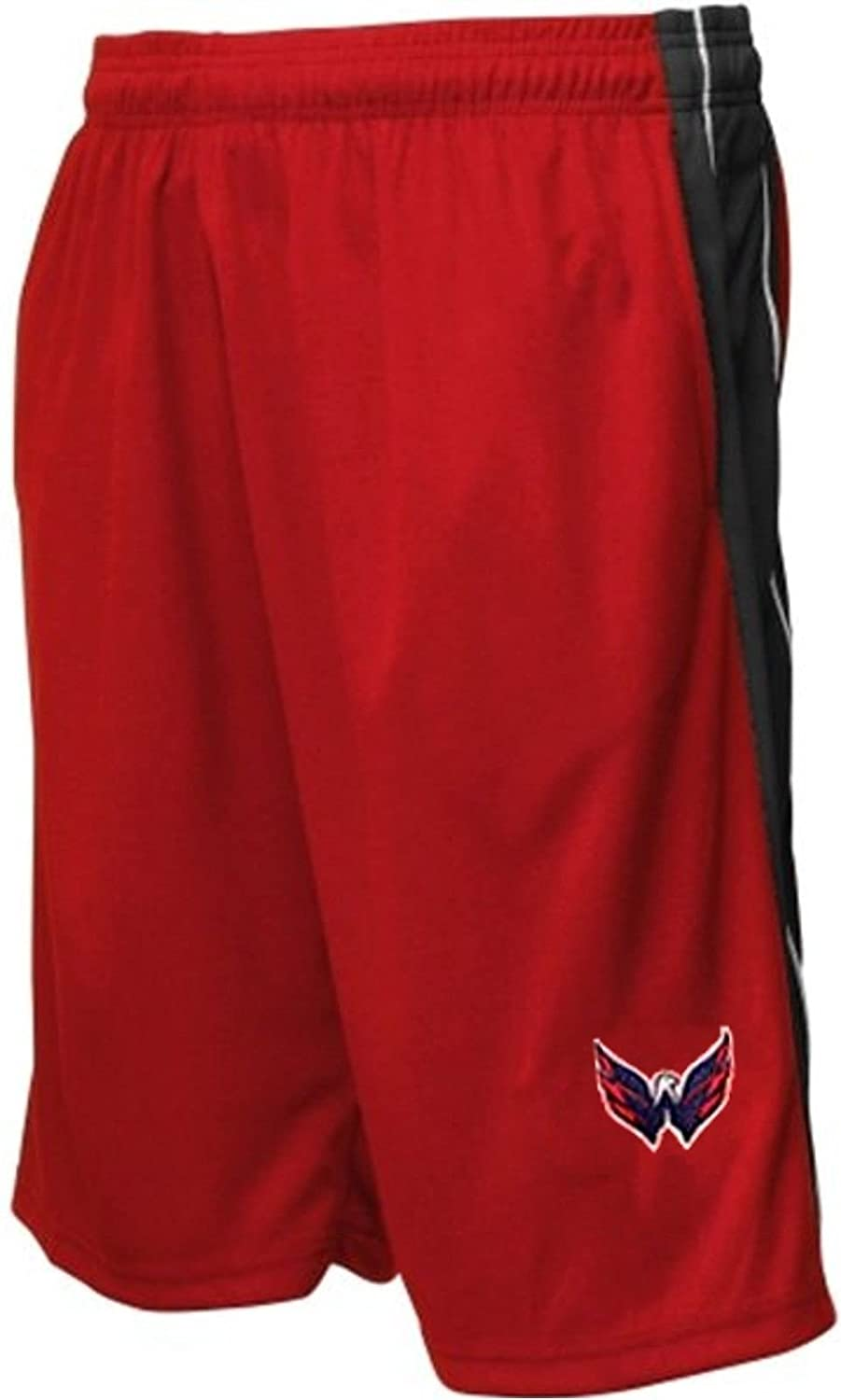 0895250ec48 Amazon.com   Majestic Washington Capitals NHL Embroidered Logo Synthetic  Shorts Red Big Sizes (6XL)   Sports   Outdoors