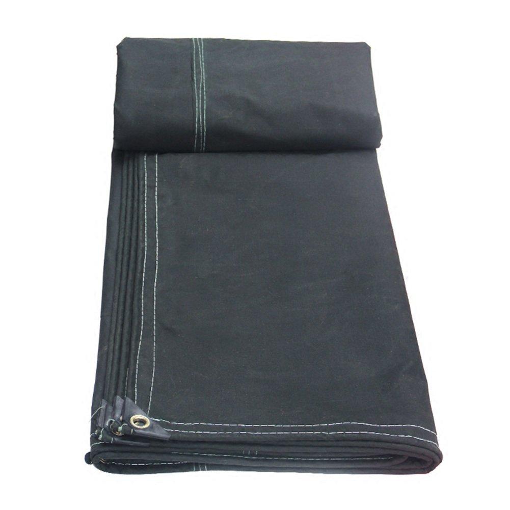 ZEMIN オーニング サンシェード ターポリン 防水 日焼け止め テント シート ルーフ 防風 閉じる 織り 厚い ポリエステル、 ブラック、 700G/M²、 8サイズあり (色 : ブラック, サイズ さいず : 2X3M) B07D5WP1H9 2X3M|ブラック ブラック 2X3M