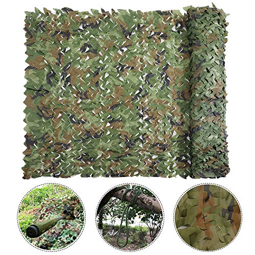 Camo Window Blind - Windyus Camo Netting Camouflage Net Military Nets Blinds for Sunshade Camping Shooting Hunting Watching Hide Party Decorations