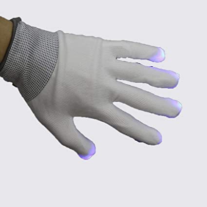 Amazon.com: Nuoen Guantes de maquillaje LED coloridos y ...