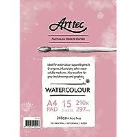 Arttec Arttec Watercolour Pad 15 Sheet A4 Art Pad, A4
