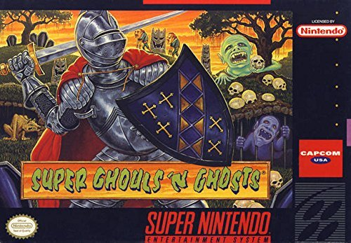 Super Ghouls 'n Ghosts  - Reproduction Video Game Cartridge