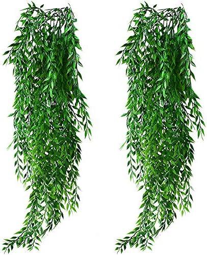 Artificial Trailing Garland Ivy Vine Leaf Fern Greenery Plants Foliage Hanging