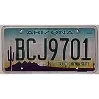 USA Nummernschild ARIZONA ~ US Kennzeichen GRAND CANYON STATE ~ Blechschild