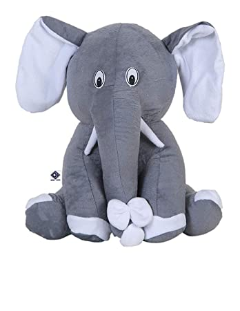 Deals India Elephant Soft Toy 22 cm- Grey
