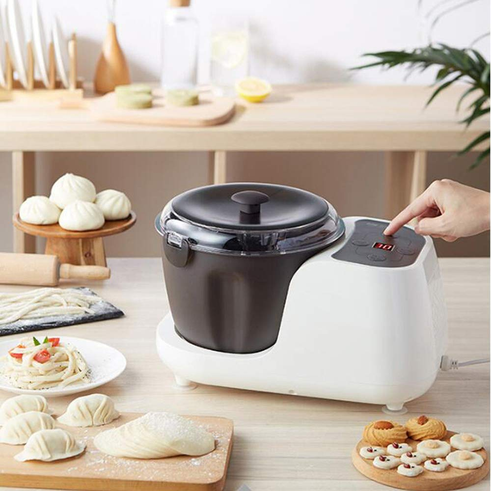 QWERTOUY 220V Household 3.5L Fermentation and Mixing Dough Machine Electric Dough Mixer Automatic Stand Food Mixer by QWERTOUY