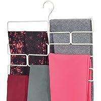 mDesign Compacta percha para pantalones de yoga, leggins