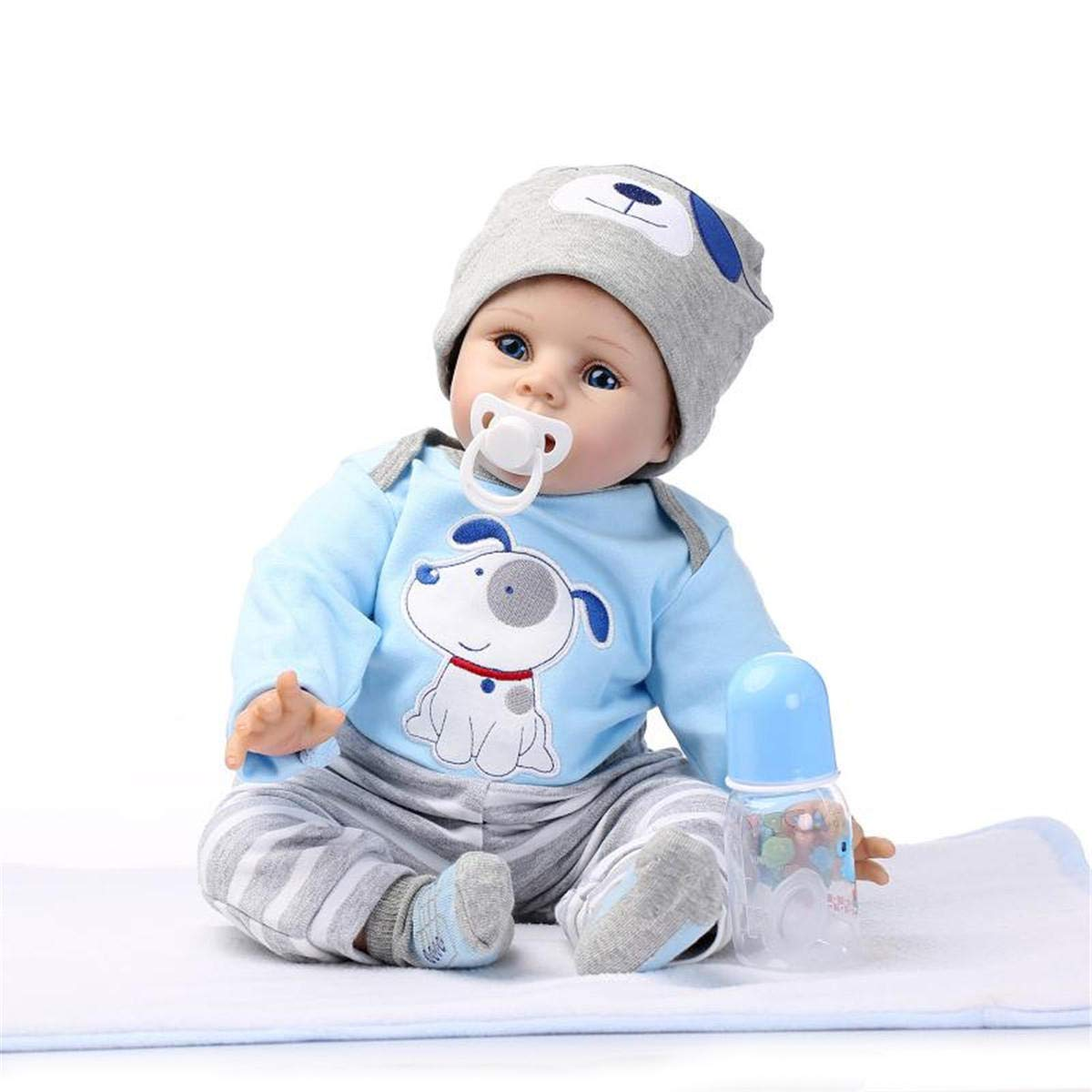 Global Brands Online NPK Puppe 22 '' '' '' Reborn Silikon handgemachte lebensechte Babypuppen realistische Neugeborenen Spielzeug 45dad9