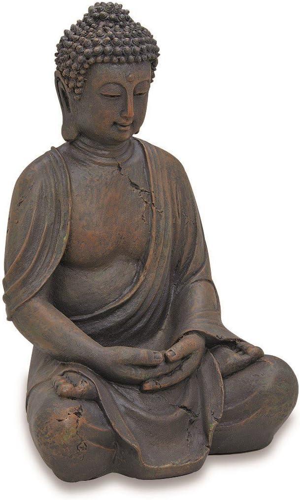 40 cm alto Altura 40cm decodificaci/ón de Buda Figura de Buda Buda sentado Aprox